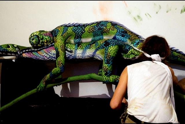 peinture-corps-animal-cameleon-4