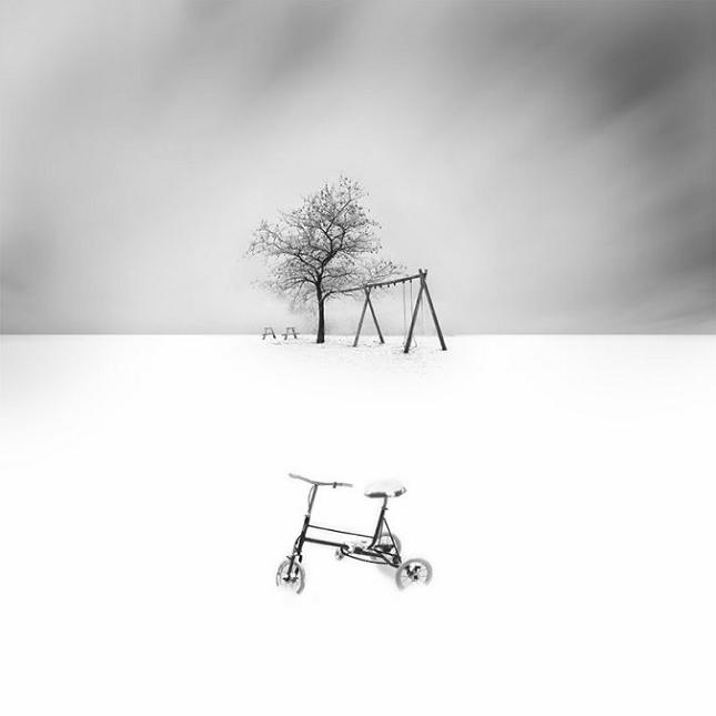 Photographies minimalistes en noir et blanc par vassilis for Foto minimaliste