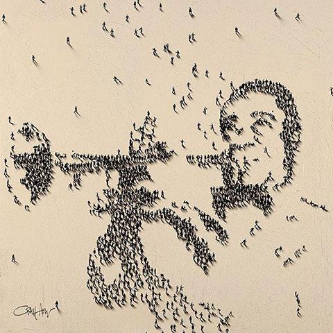 Human pixels par Craig Alan 2