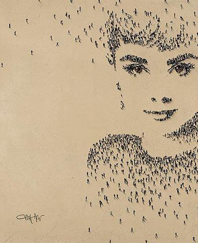 Human pixels par Craig Alan 3