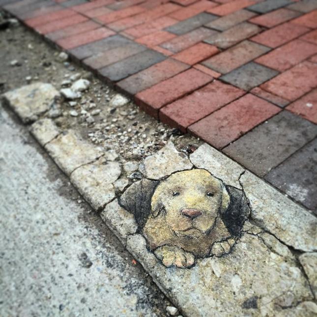 dessins a la craie - street art-8
