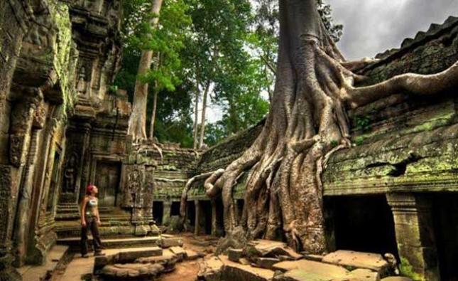 Exporation des temples de Siem Reap, Cambodge