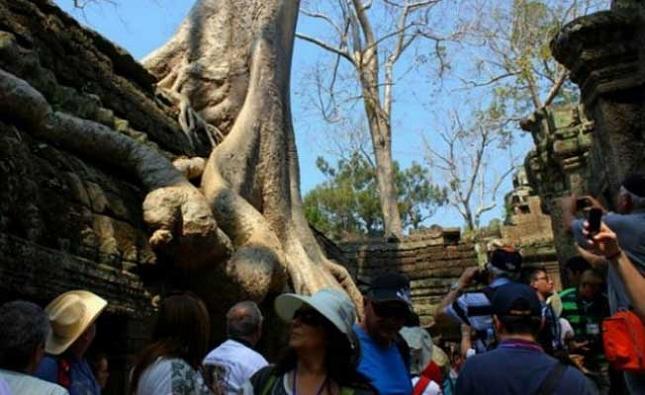 Exporation des temples de Siem Reap, Cambodge.realité