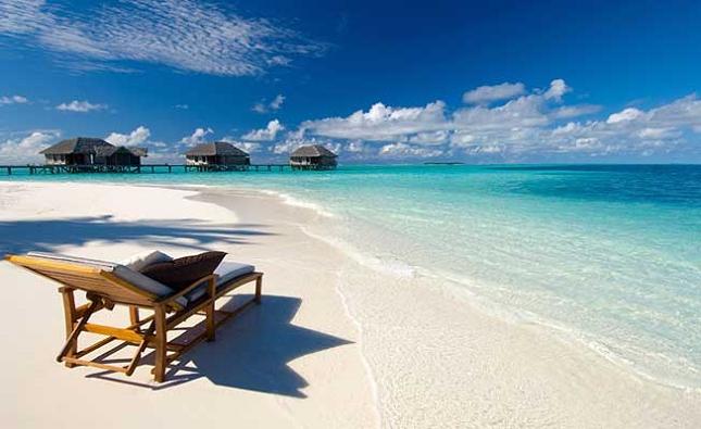 Les magnifiques plages des Maldives