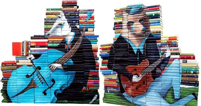 peintures sur livre-1