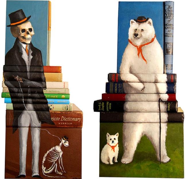 peintures sur livre-6