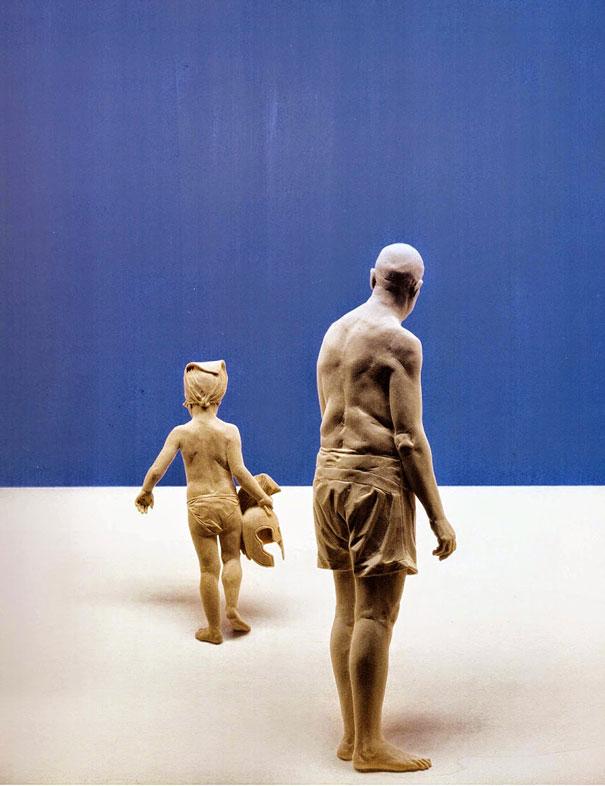 les incroyables sculptures en bois de peter demetz. Black Bedroom Furniture Sets. Home Design Ideas