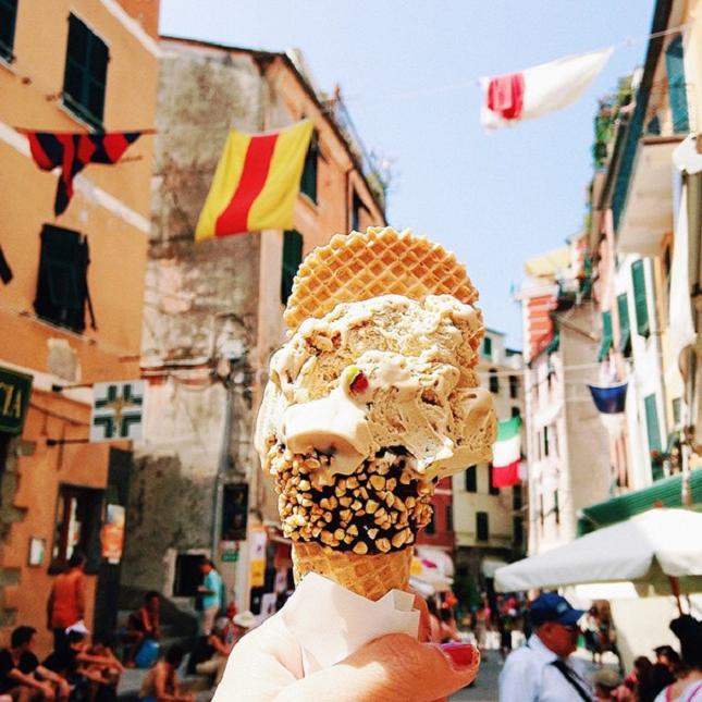 Pistachio Gelato - Italie