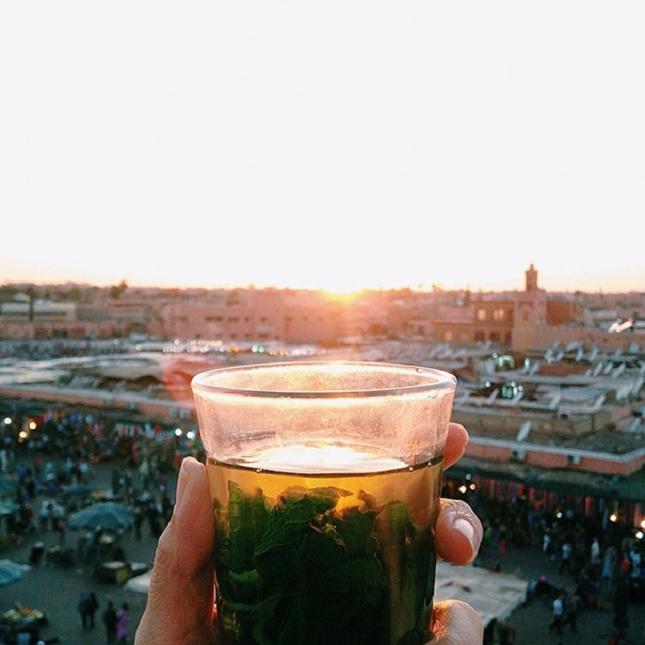 Thé à la menthe - Maroc