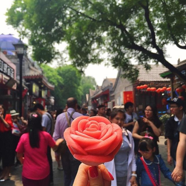 crème glacée à la fraise à South Luogu Lane beijing