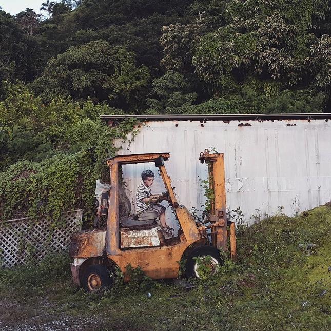 Street-Art interactif et participatif-