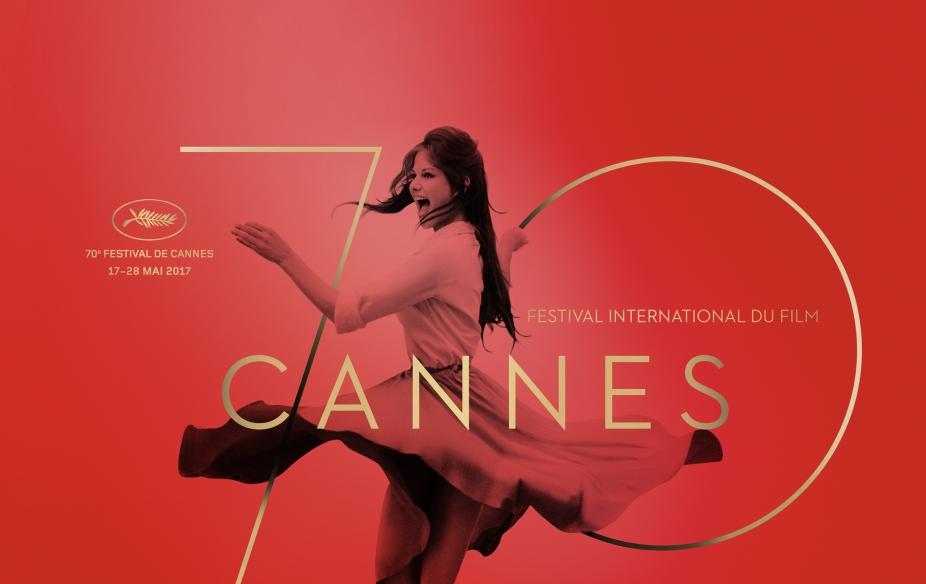 affiche de la 70e édition du Festival de Cannes 2017