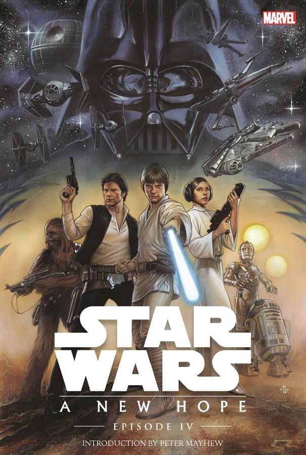 Star Wars, épisode IV : Un nouvel espoir de George Lucas, sorti en 1977