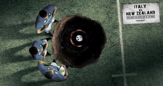 Rugby  Italie vs Nouvelle Zelande