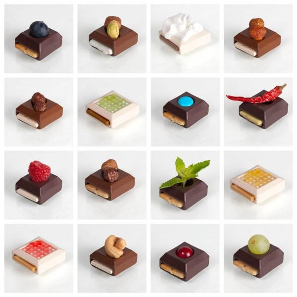Chocolats modulaires