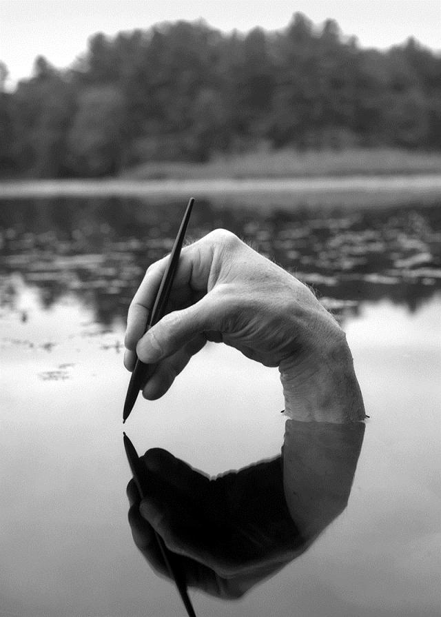 autoportraits en noir et blanc1