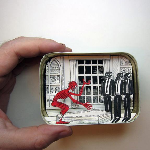 scènes miniatures