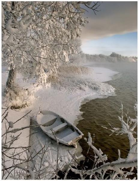 hiver en Russie