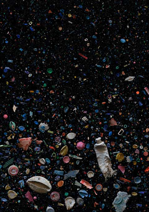 plastic océan