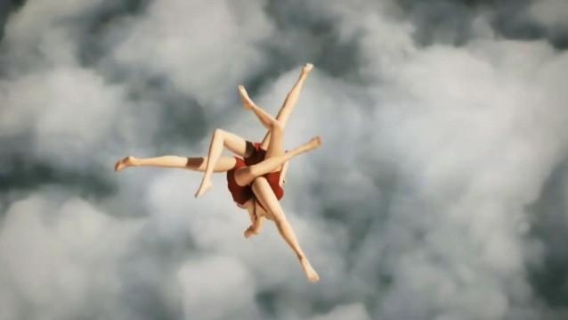 Natation synchronisée aérienne