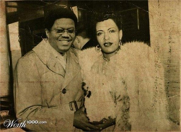 Bernie Mac and Billie Holiday