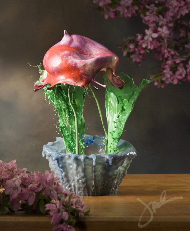 fleurs liquides