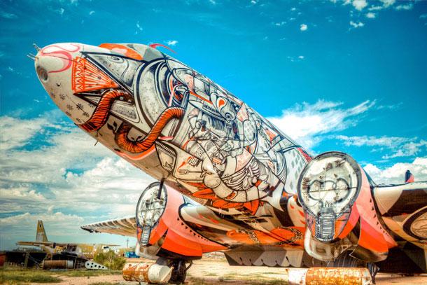 avions recyclés