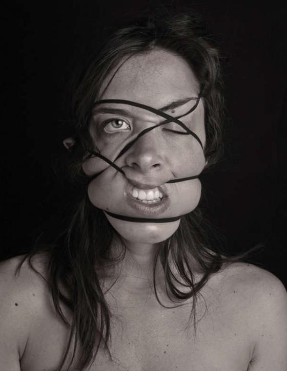 visages élastiques