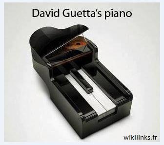 piano David Guetta