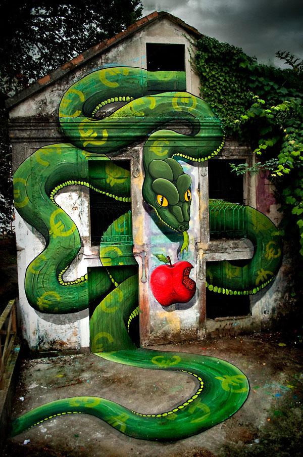 serpent au festival