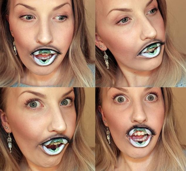 Maquillage-levres-bouche-oeil-Sandra-Holmbom-2