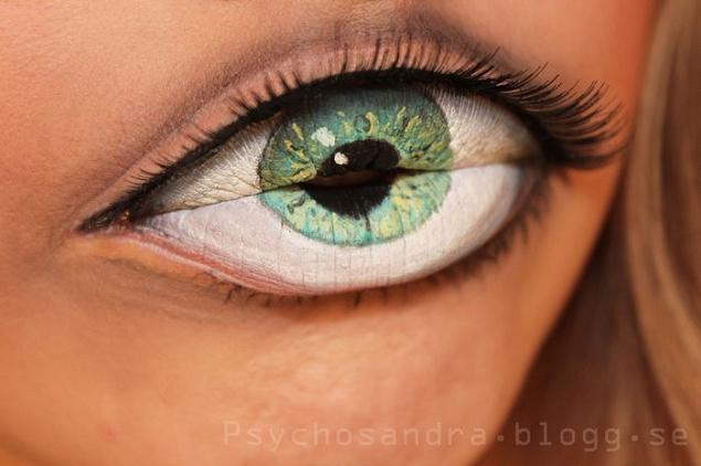 Maquillage-levres-bouche-oeil-Sandra-Holmbom-3