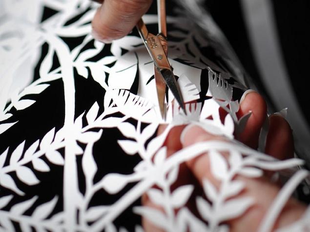 Paper Cutting par Karen Bit Vejle