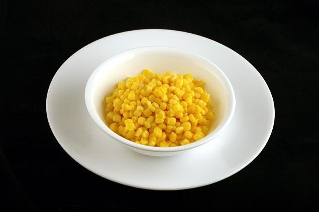 Maïs doux en conserve 308 grammes=200 calories