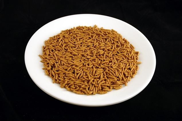 céréales 100 grammes = 200 calories