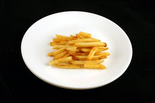 Frites 73 grammes = 200 calories