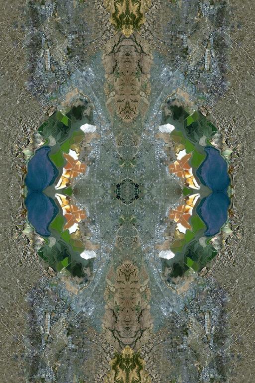 image satellite superbe