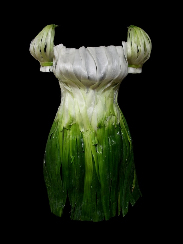 Vêtement comestible - oignon