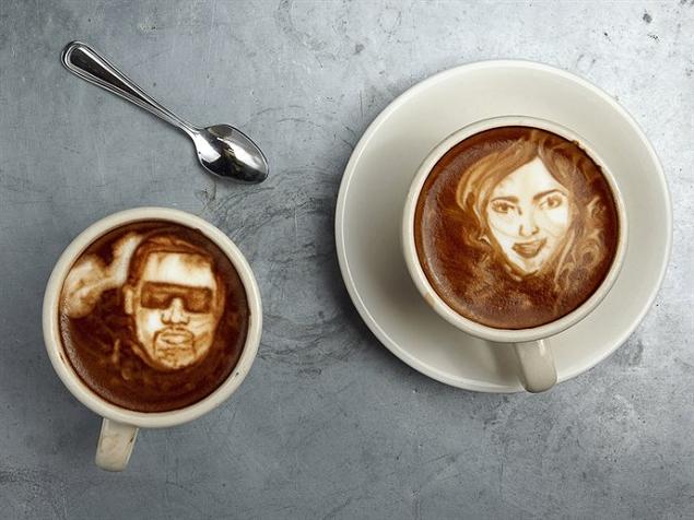 Latte Art par Mike Breach