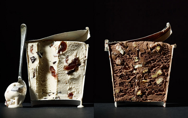 Coupes transversales de petits plats par Beth Gallon