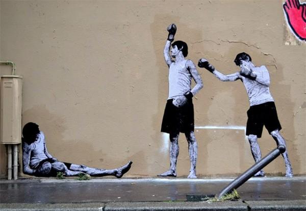 Street-Art dans les rues de Paris
