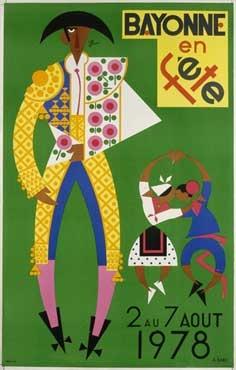 affiche-des-fetes-de-Bayonne-en-1978
