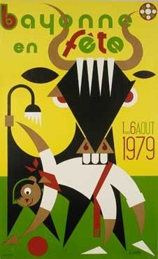 affiche-des-fetes-de-Bayonne-en-1979