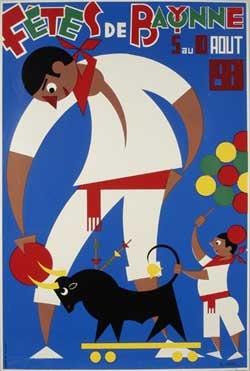 affiche-des-fetes-de-Bayonne-en-1981