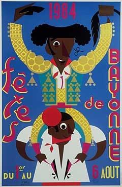 affiche-des-fetes-de-Bayonne-en-1984