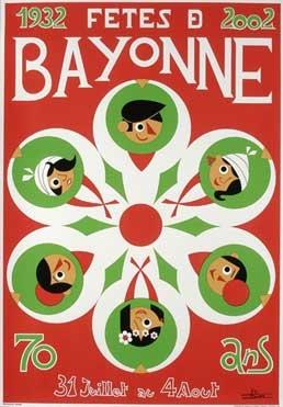 affiche-des-fetes-de-Bayonne-en-2002