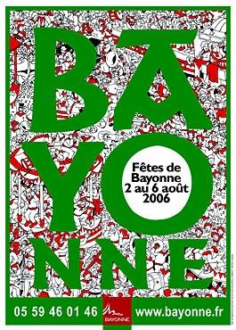 affiche-des-fetes-de-Bayonne-en-2006
