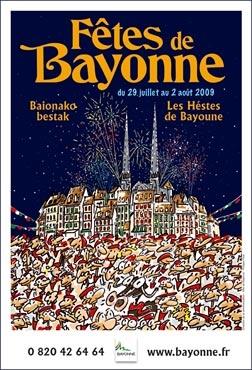 affiche-des-fetes-de-Bayonne-en-2009
