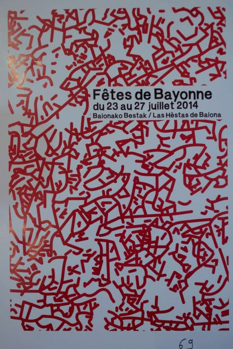 affiche-fete-Bayonne-2014-