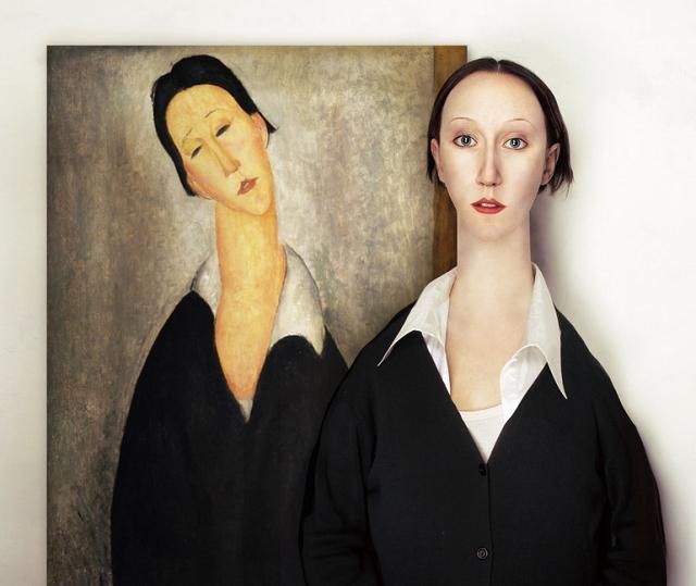 Les modèles de la peinture figuratives